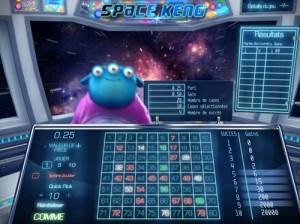 Jeu Space Keno - Logiciel Sherrif Gaming.