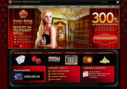 euroking casino bonus