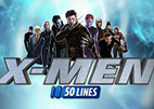 X-men 50 lines